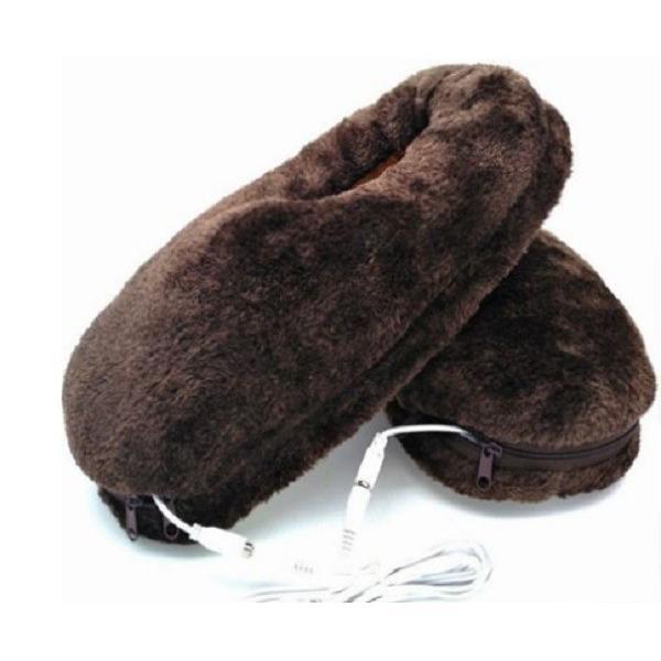 USB スリッパ 足温器 ヒーター 足元 暖かい おしゃれ 室内 防寒 暖房 冷え性対策 勉強 オフィス デスクワーク 寒さ対策|wakufuri|07