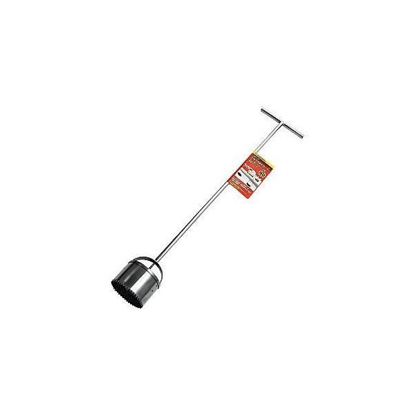ガーデンヘルパー(GardenHelper)ステンレス ロングマルチ穴あけカッター 80φ HCL-80 花 ガーデン DIY ガーデニング 用具 石黒金属