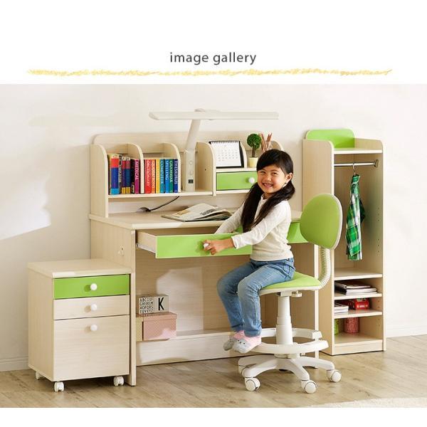 【当店オリジナルカラー追加】1年保証付き 椅子 昇降式 学習チェア 学習椅子 チェアー STEP(ステップ) 19色対応 ファブリック PVC wakuwaku-land 14