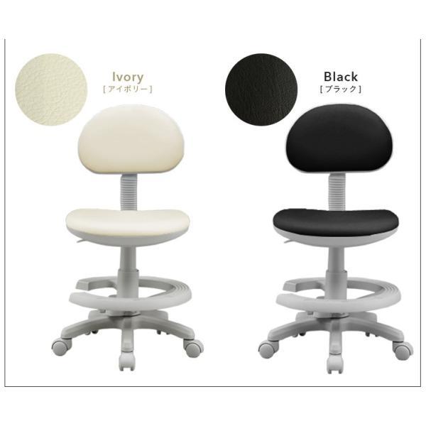 【当店オリジナルカラー追加】1年保証付き 椅子 昇降式 学習チェア 学習椅子 チェアー STEP(ステップ) 19色対応 ファブリック PVC wakuwaku-land 05