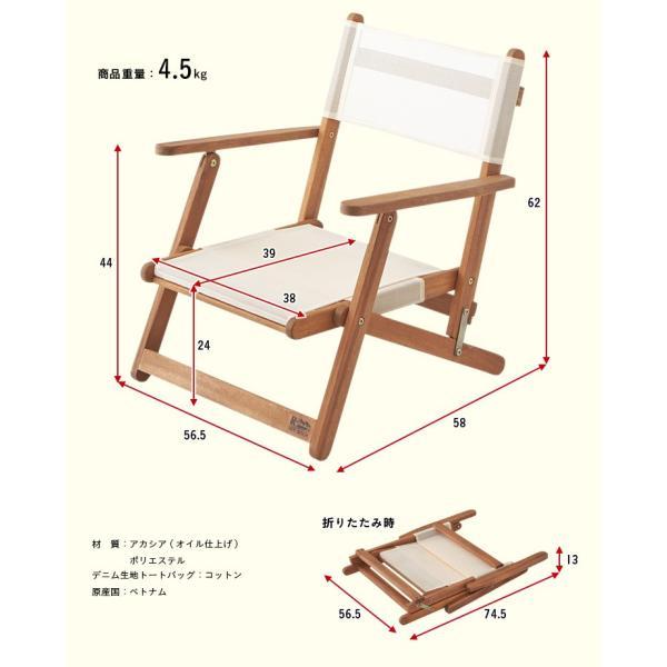 ガーデンテーブルセット ガーデンテーブル3点セット フォールディング テーブル&チェア 3点セット wakuwaku-land 04