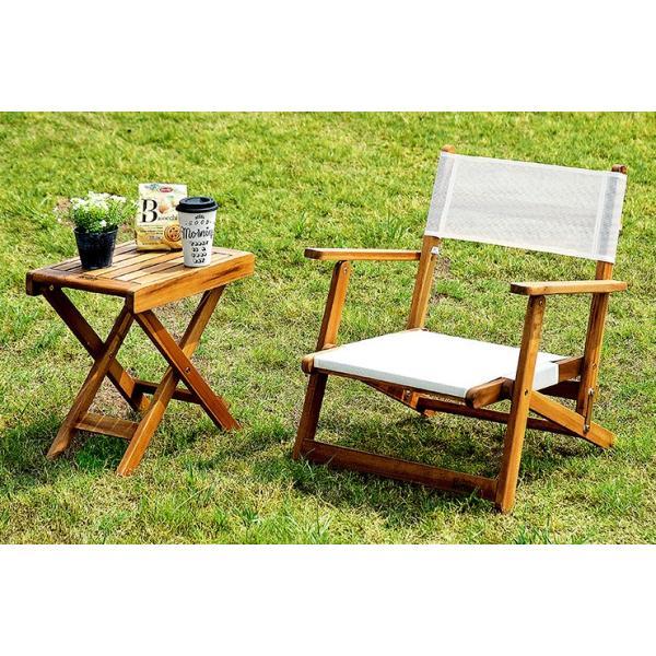 ガーデンテーブルセット ガーデンテーブル3点セット フォールディング テーブル&チェア 3点セット wakuwaku-land 07