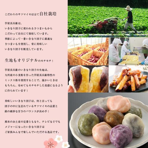 熊本名物いきなり団子&大学いものセット 贈答 送料無料|wakuwakukenkouclub|02