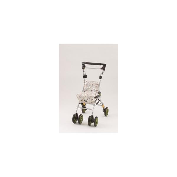 象印ベビー シルバーカー ライトステップ・タイニーWヌーボ- シャンパンフラワー|wakuwakustore|02