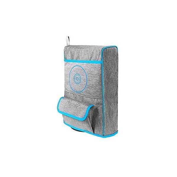 SHEAWAPS5用防塵カバー保護カバーナイロン製傷防止汚れ防止コントローラーやディスクを収納 PlayStation5