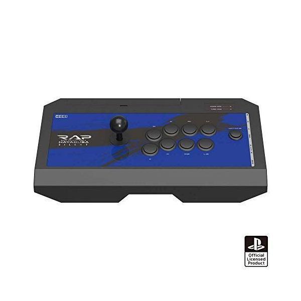 PS5動作確認済 リアルアーケードPro.VサイレントHAYABUSAヘッドセット端子付きforPlayStation?4/P