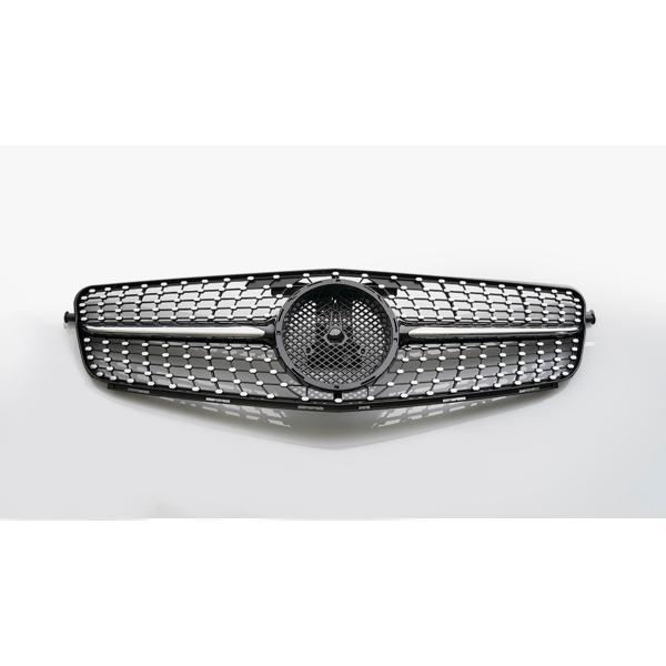 ダイヤモンドグリル Cクラス W204 '07y~'14y ブラック/クローム wald-online-store