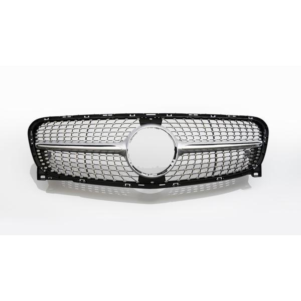 ダイヤモンドグリル GLAクラス X156 '14y~ '16y シルバー/クローム|wald-online-store