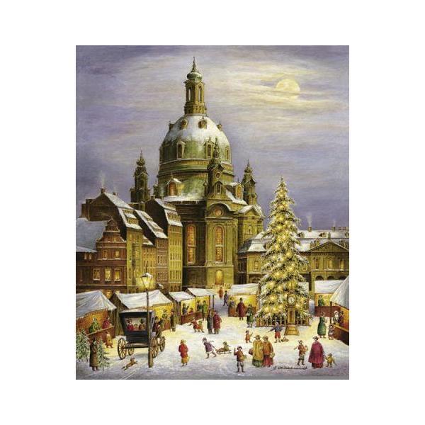 アドベントカレンダー ドレスデン聖母教会