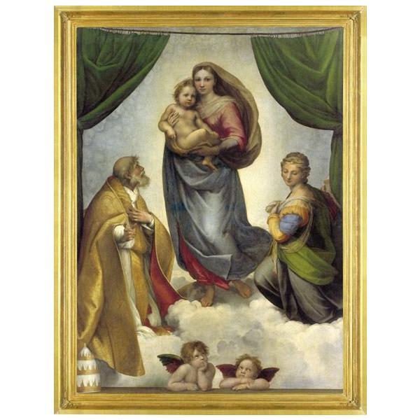 アドベントカレンダー システィーナの聖母