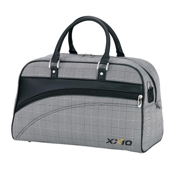 ダンロップ XXIO ゼクシオ ゴルフ ボストンバッグ GGB-X111 グレンチェック L48×H27×W22(cm)BB172