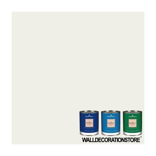 水性ペンキ ベンジャミンムーア  OC-17 white dove クォート缶 0.9L 塗料 リーガルセレクト
