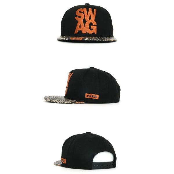 キャップ ローキャップ 帽子 スナップバック キャップ PREMIER SWAG ロゴ レディース キャップ メンズ キャップ ローキャップ wallstickershop 05
