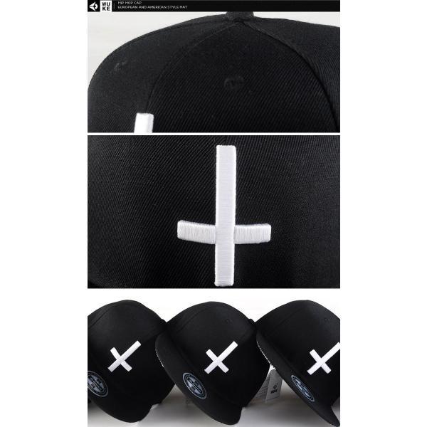 キャップ ローキャップ 帽子 スナップバック キャップ 十字 ブラック レディース キャップ メンズ キャップ ローキャップ ベースボールキャップ wallstickershop 05