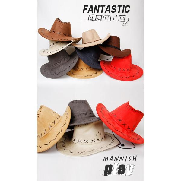 カウボーイハット ハット帽 ハット帽子 帽子 レディース キャップ メンズ キャップ 中折れ帽 パナマ帽 つば広帽 中折れハット パナマハット つば広ハット|wallstickershop|07