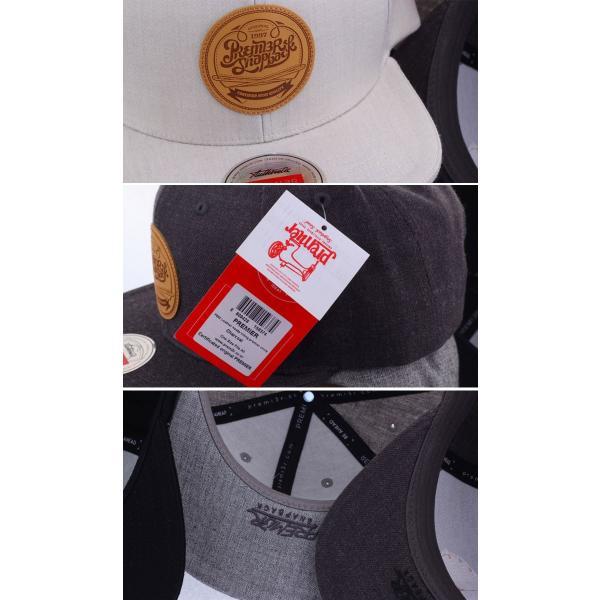 キャップ ローキャップ 帽子 スナップバック キャップ PREMIER ロゴ入り 無地 レディース キャップ メンズ キャップ wallstickershop 05