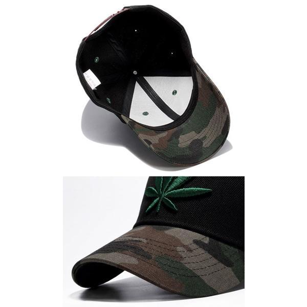 キャップ メンズ レディース ブラック 帽子 ベースボールキャップ 野球帽子 コットンキャップ シンプル 黒い葉 骸骨 スカル b系 ドクロ ダンス wallstickershop 04