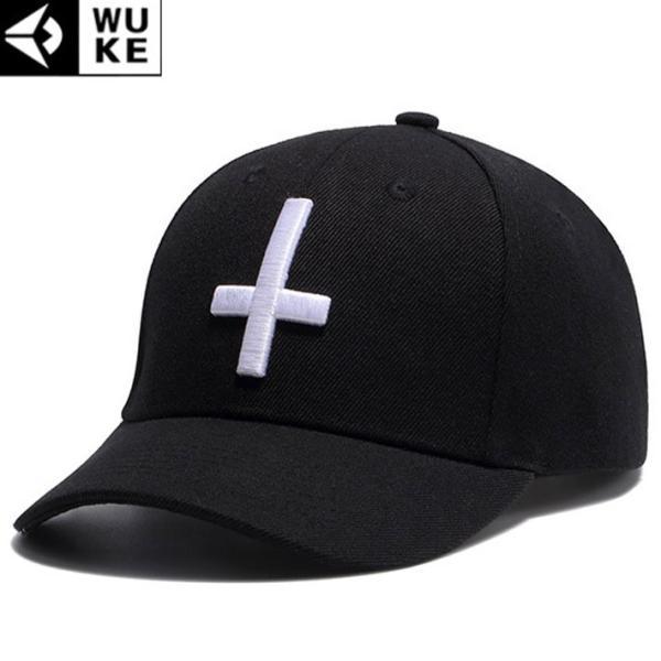 キャップ メンズ レディース ブラック 帽子 ベースボールキャップ 野球帽子 コットンキャップ シンプル 十字 クロス b系 ペイズリー柄 バンダナ柄|wallstickershop