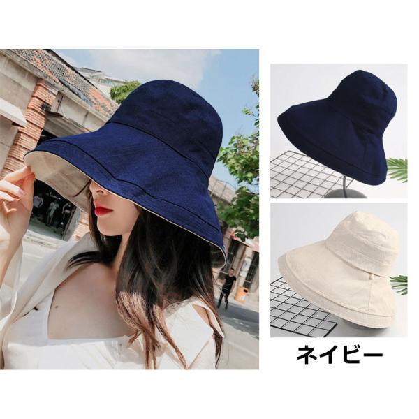 帽子 レディース ハット つば広 リボン uv ハット 紫外線対策 キャペリンハット サファリハット UVハット y4|wallstickershop|05