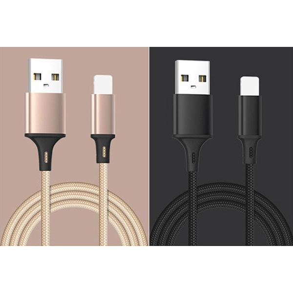 usbケーブル iPhone用 カラフル USBケーブル 1m iPhone用 スマホ充電ケーブル 断線しにくい 保護 丈夫 y2|wallstickershop|06