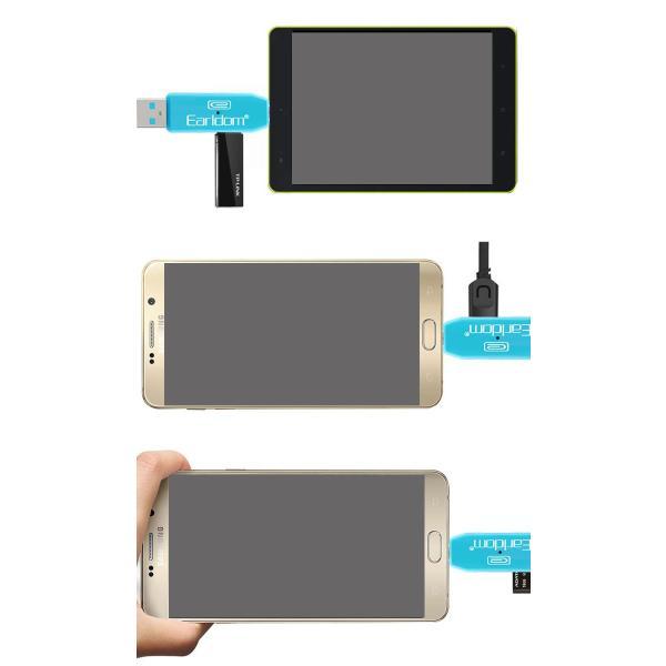 USBカードリーダー SDメモリーカードリーダー MiniSD OTG android アンドロイド スマホ タブレット usb ケーブル ホスト 変換 マウス接続 キーボード|wallstickershop|05