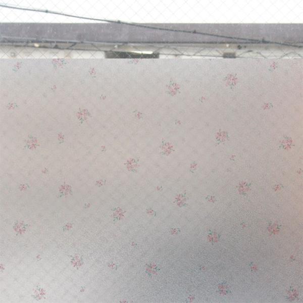 窓ガラス フィルム はがせる 窓 目隠し シート 窓ガラスフィルム 花畑 外から見えない おしゃれ 目隠しフィルム 飛散防止|wallstickershop|05