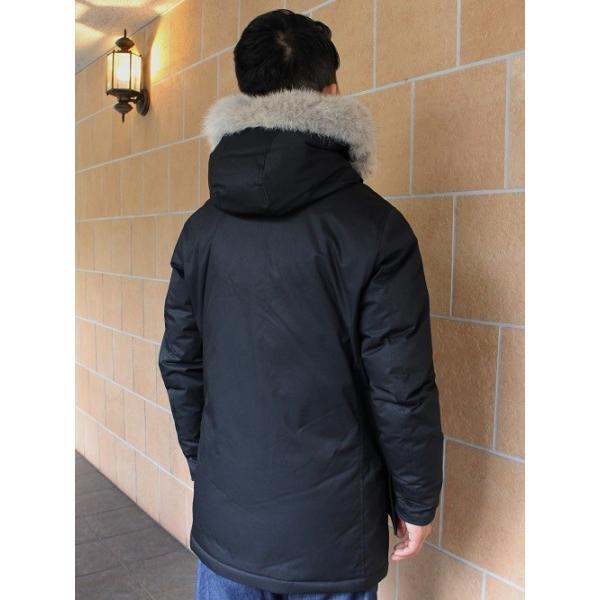 ウールリッチ WOOLRICH / メンズ ダウンジャケット Laminated Cotton Parka   WO1193 (ブラック)|walnutsimport|02