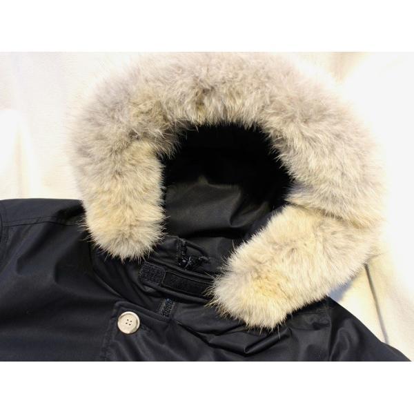 ウールリッチ WOOLRICH / メンズ ダウンジャケット Laminated Cotton Parka   WO1193 (ブラック)|walnutsimport|04