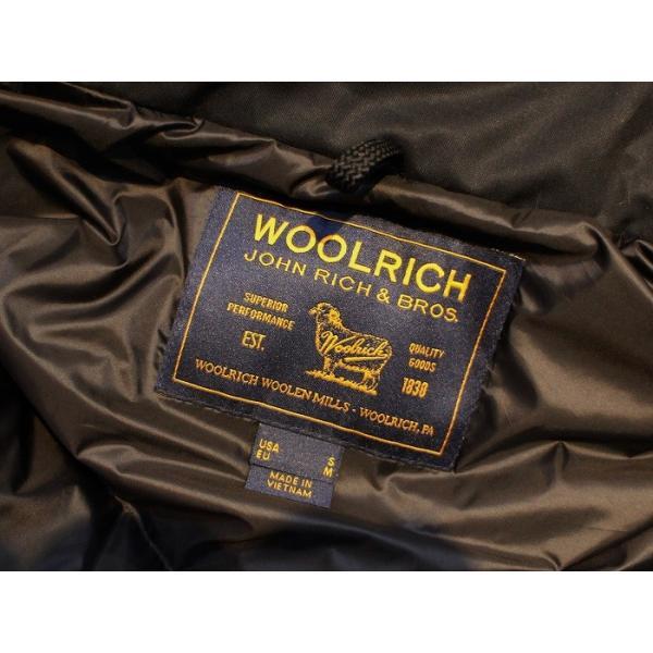 ウールリッチ WOOLRICH / メンズ ダウンジャケット Laminated Cotton Parka   WO1193 (ブラック)|walnutsimport|06