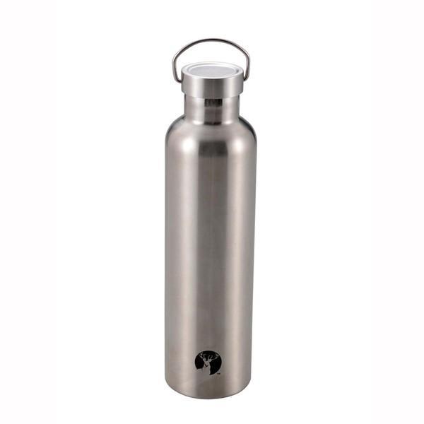 パール金属 HDボトル1000 シルバー|wamonogram