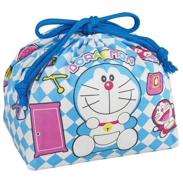 (まとめ買い)オーエスケー ドラえもん 巾着弁当袋×6|wamonogram