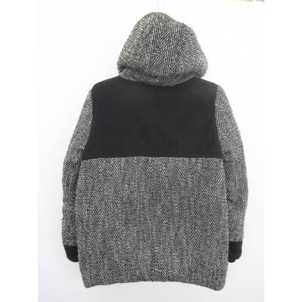 SLY(スライ)ツイード中綿ダウンコート 長袖 黒/白 レディース Bランク 1 wanboo 02