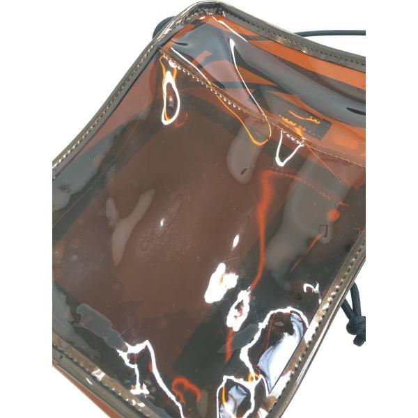 RODEO CROWNS(ロデオクラウンズ)クリアショルダーバッグ 茶 レディース A-ランク|wanboo|04