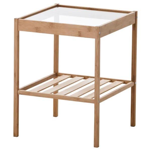 IKEA NESNA/ネスナベッドサイドテーブル36x35cm