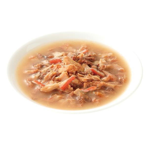 カルカン パウチ スープ仕立て 12ヵ月までの子ねこ用  かにかま入りかつお 70g×16コ|wannyan-ya|02