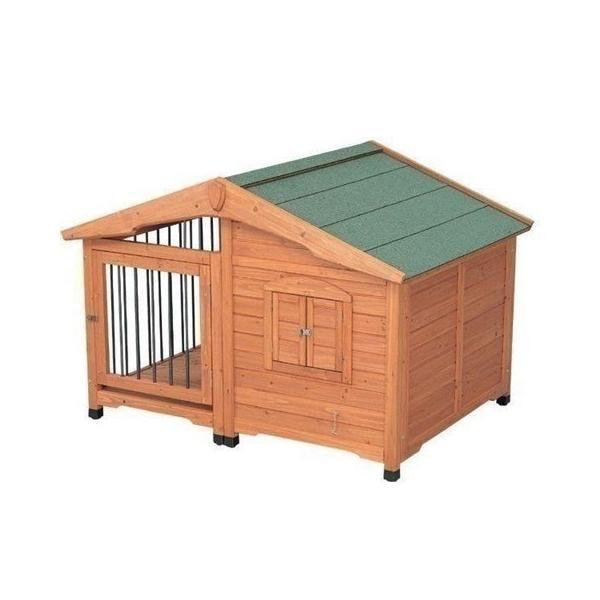 犬小屋 ドッグハウス 室外 屋外 防寒 サークル ペットハウス 木製 屋外 室外 大型犬 サークル犬舎 CL-1400  アイリスオーヤマ