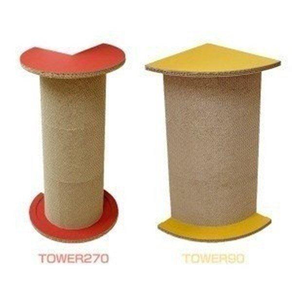 アイリスオーヤマ『猫の爪とぎ TOWER270・TOWER90』