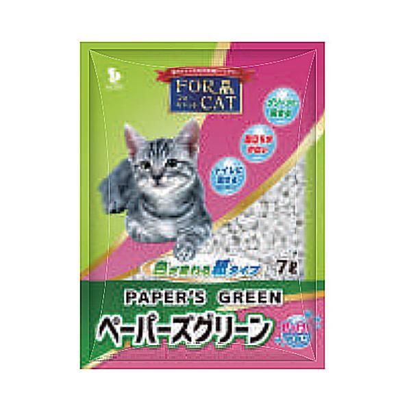 新東北化学工業 ペーパーズグリーン せっけんの香り 6.5L 猫砂 猫用 猫砂 ネコトイレ