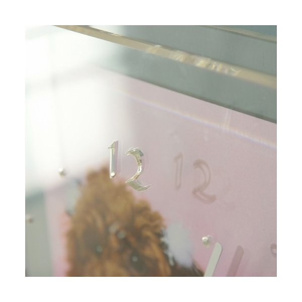 お気に入り写真をリビングのアクセントに!クリアフォトクロック【送料無料】 wanpla 03