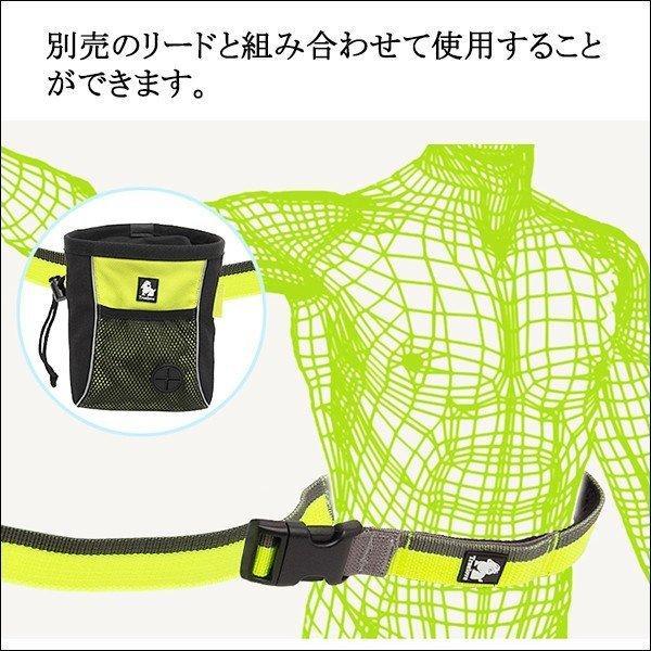犬 トリーツポーチ トレーニングバッグ ポーチ お散歩袋 ウエストポーチ|wanwan-square-garden|06