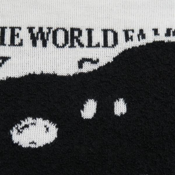 カステルバジャック スヌーピー丸首セーター 白 50サイズ 21480-103-01 castelbajac Snoopy ニット|wanwan|05