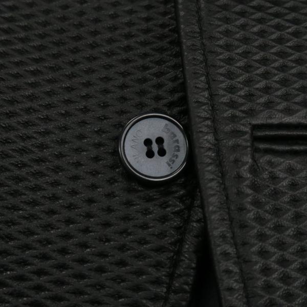 バラシ 本革ジャケット 黒 50サイズ 2150-6781-20 barassi|wanwan|04