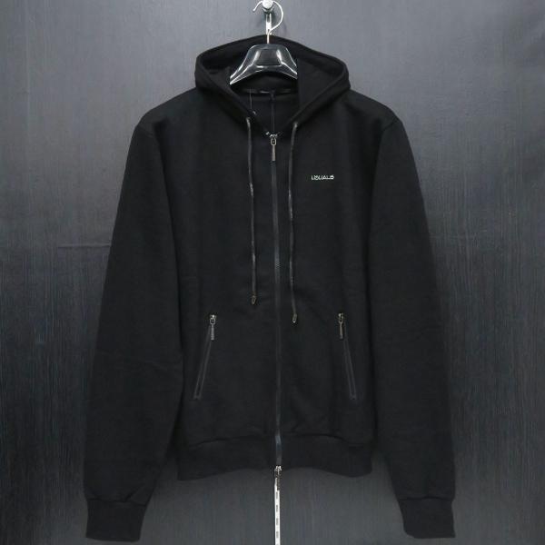 ウザリス ラインストーンスカルジップアップパーカー 黒 XXLサイズ 75-3106-60-05 USUALIS|wanwan|02