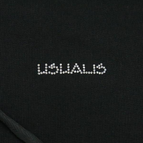 ウザリス ラインストーンスカルジップアップパーカー 黒 XXLサイズ 75-3106-60-05 USUALIS|wanwan|04