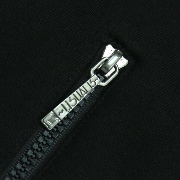 ウザリス ラインストーンスカルジップアップパーカー 黒 XXLサイズ 75-3106-60-05 USUALIS|wanwan|06