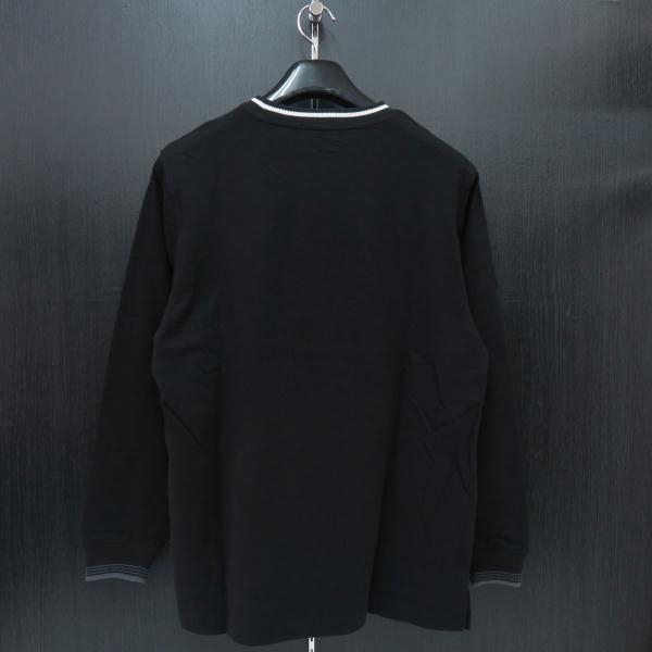 パジェロ 長袖Tシャツ 黒 81-1581-07-05 PAGELO オオカミ 狼|wanwan|02