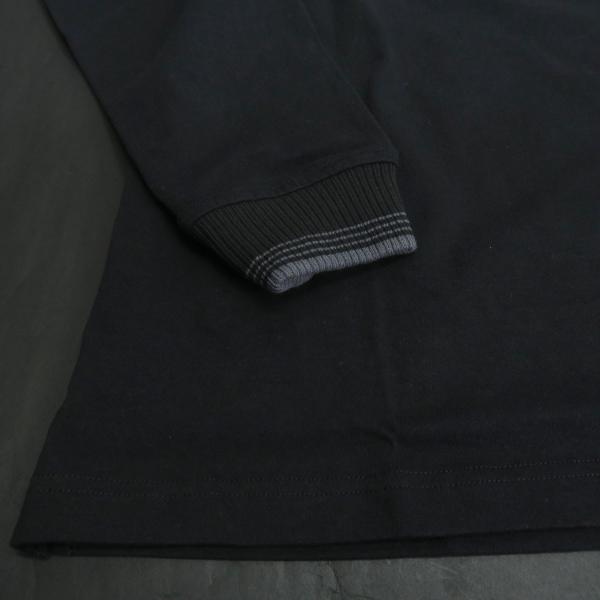 パジェロ 長袖Tシャツ 黒 81-1581-07-05 PAGELO オオカミ 狼|wanwan|05