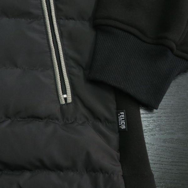 フェリシスステラ ダウンパーカーブルゾン 黒 50サイズ 916701-Z58 FELICIS STELLA wanwan 06