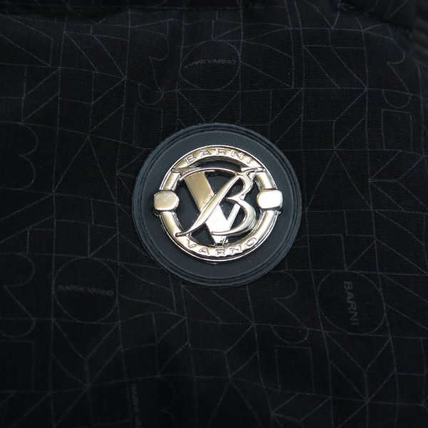 バーニヴァーノ ダウンジャケット 黒/白 Lサイズ BAW-GDB2601-05 BARNI VARNO|wanwan|06