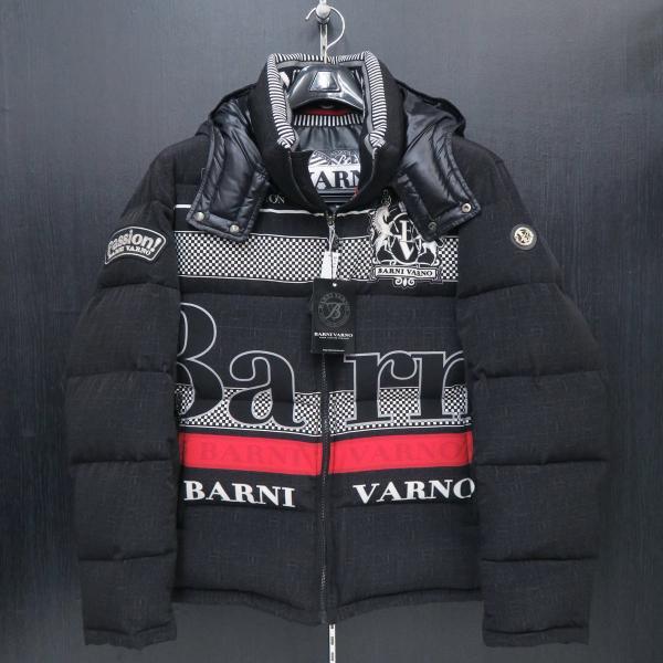 バーニヴァーノ ダウンジャケット 黒 Lサイズ BAW-GDB2601-09 BARNI VARNO|wanwan
